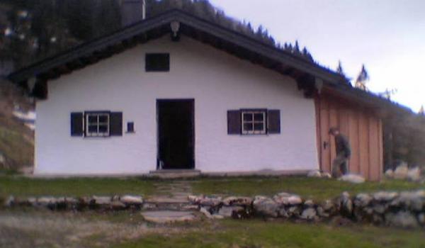unseren Hütte auf der Kampenwand: Michl-Alm